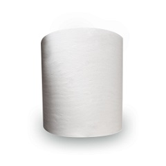 Thru-Air-Dried (Tad) White Universal Jumbo Roll Towel, 950'/Rl, 6/Cs