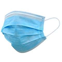 3-Ply Disposable Mask, ASTM Level 1, 50/BX