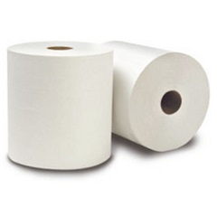 Nitany White Roll Towel