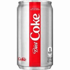 Diet Coke, Mini 7.5oz Cans, 24/cs