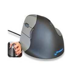 Evoluent Vertical Ergonomic Mouse, Left Handed, Wired