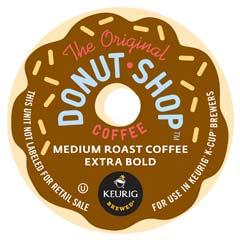 Donut Shop Coffee K-Cups, Regular, 24/Box