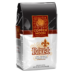 Copper Moon Ground Coffee French Roast, 4/2#, Packed by the case