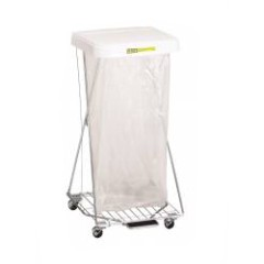 Wire Hamper Stand With Foot Pedal