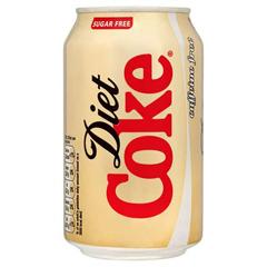 Caffeine Free Diet Coke, 12oz Cans, 24/CS