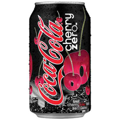 Cherry Coke Zero Sugar, 12oz Cans, 24/CS