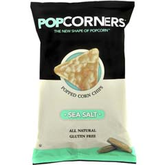 Sea Salt Pop Corners Chips, 1.1oz Bag, 40/CS