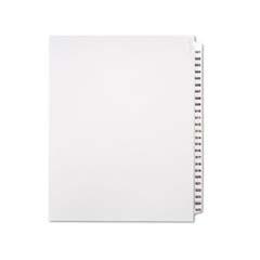 "80000 Series Side Tab Legal Index Divider Set,  Printed ""576-600"""