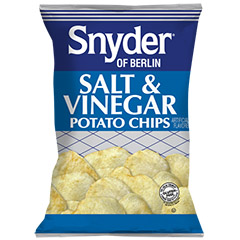 Salt & Vinegar Potato Chips, 2.75oz, 24/Case